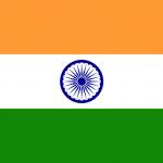 Indien flagga