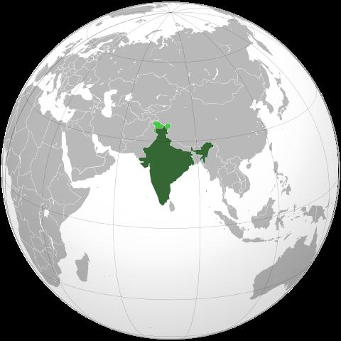 Indien karta