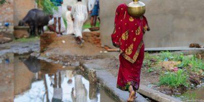 Det land i världen där flest insjuknar i kolera är Indien