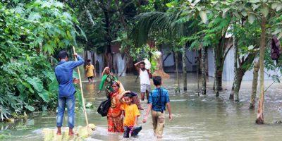 monsunregn i södra Asien